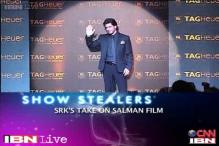 e Lounge: SRK's  take on Salman's 'Jai Ho'