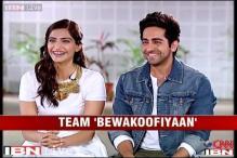 E lounge: Sonam Kapoor, Ayushmann Khurrana on 'Bewakoofiyaan'