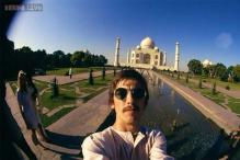 At 23, Beatles' lead guitarist George Harrison clicked an iconic selfie at the Taj Mahal during his 1966 India visit
