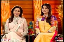 Idol Chat: Madhuri Dixit and Juhi Chawla on working together in 'Gulabi Gang'