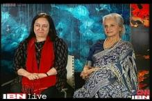 Idol Chat: Masand in conversation with Nasreen Kabir, Waheeda Rehman