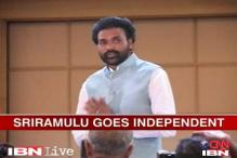 Karnataka BJP defends Sriramulu's reinduction