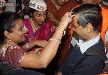 Photos: Arvind Kejriwal seen riding an autorickshaw in Mumbai