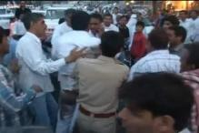 Unidentified person attacks Arvind Kejriwal during rally in Haryana