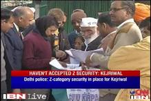 Kejriwal refuses to accept security, police says he has to take it