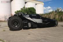 Batman's 'Tumbler' Batmobile goes up for sale for $1 mn; features GPS, CD player, iPod integration