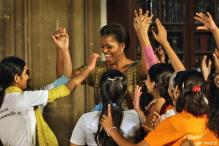 Michelle and the girls are on their way to China. It's very lonely at home: Barack Obama