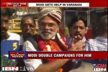 Watch: Modi lookalike on campaign trail in Varanasi