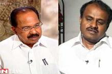 HD Kumaraswamy to take on Veerappa Moily in Chikballapur