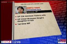 MPs Rating: Dimple Yadav scores 4.1 on a scale of 10