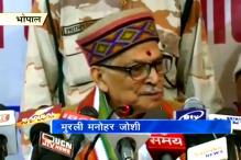 Murli Manohar Joshi starts campaigning in Kanpur