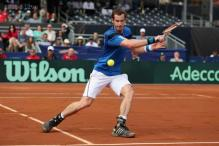 Andy Murray to lead Britain in Davis Cup quarter-final against Italy