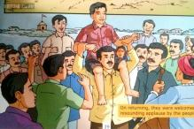 'Bal Narendra' in pics: Comic book shows 'fearless' young Narendra Modi saving drowning boy, taking on crocodiles, bullies