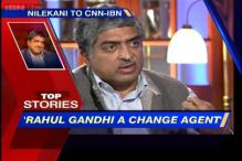 News 360: Rahul Gandhi's ideas are revolutionary, says Nandan Nilekani