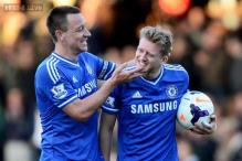 Schuerrle's treble gives Chelsea 3-1 win at Fulham