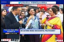 Open Mike: Do actors make successful politicians?