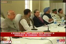 Communal Violence Bill be brought through ordinance route: Rahman Khan