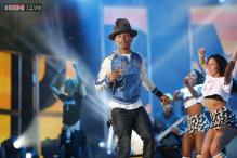 Amitabh Bachchan 'Happy' to 'Get Lucky' with Pharell Williams