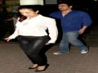 Malaika Arora Khan steps out with husband Arbaaz, son Arhaan and sister Amrita for a family dinner