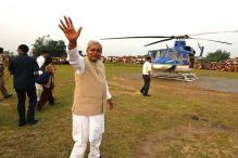 Political parties hire private helicopters in advance for poll campaigning
