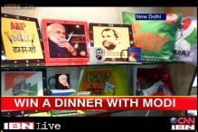 In election season, Modi, Kejriwal lead race of online products