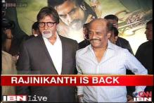 Rajnikanth launches much anticipated animated film 'Kochadaiiyaan'