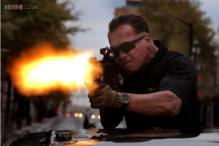Arnold Schwarzenegger defends violence in his film 'Sabotage'; says video games are worse