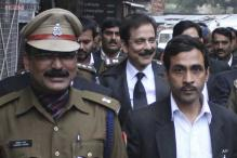 Subrata Roy Sahara brought to Delhi, to be produced in SC today