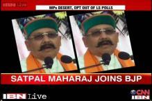 Congress faces desertion ahead of Lok Sabha polls