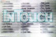 Lindsay Lohan's list of 36 people she has slept with leaked online, Justin Timberlake and Heath Ledger are on the list