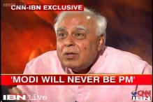 Modi can never be the Prime Minister, says Kapil Sibal