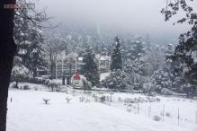 Snow fall wraps Shimla, Manali