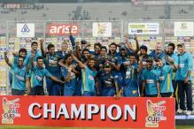 Sri Lanka beat Pakistan by five wickets to win the Asia Cup 2014