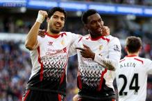 Luis Suarez scores hat-trick as Liverpool defeat Cardiff City 6-3