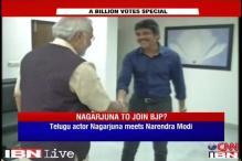 Telugu matinee idol Akkineni Nagarjuna meets Narendra Modi