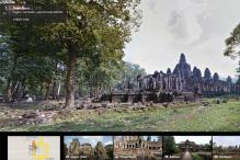 Explore Cambodia's spectacular Angkor Wat temples on Google Street View