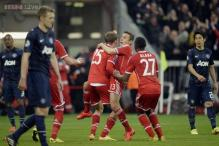 Bayern Munich knock Manchester United out of Champions League