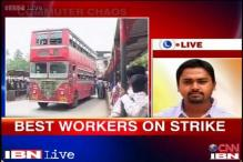 Mumbai: BEST drivers and conductors on a strike, buses off the roads
