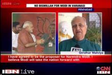 Madan Mohan Malviya's grandson among Modi's proposers in Varanasi