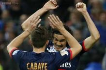 Cavani double hands PSG French League Cup trophy