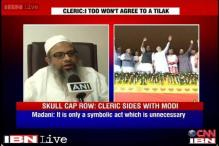 Muslim cleric backs Modi, says not wearing skull caps 'not a bad thing'