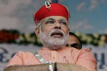 Congress runs on 'damad power', says Narendra Modi