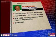MPs rating: Deve Gowda scored 6.15 out of 10 in performance