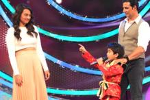 Photos: 'DID' contestant leaves Sonakshi Sinha in splits with his romantic couplets, witty replies
