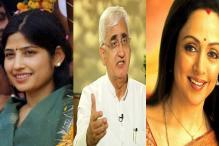 Dimple, Khurshid, Hema Malini file nominations