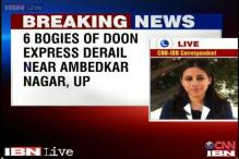 UP: Doon Express train gets derailed near Ambedkar Nagar, eight injured