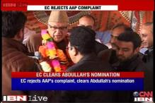 Polling official clears Farooq's nomination, AAP to approach CEC