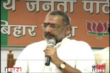 FIR against Giriraj for his 'those against Modi will have to go to Pakistan' remark