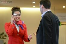 Virgin Atlantic using Google Glass for faster check-ins, to improve customer experience