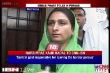 Unlike Gandhis, Badal family has been elected by people: Harsimrat Kaur
